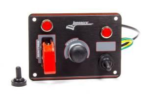 LONGACRE #52-44866 Ignition Panel Black w/ 1 Acc. and Pilot Light