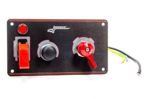 LONGACRE #52-44871 Ignition Panel Black w/Batt Disconnect
