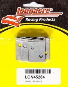 LONGACRE #52-45284 Brake Fitting Frame Tab 4-pack