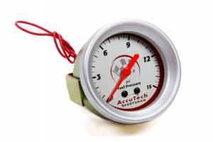 LONGACRE #52-46506 Fuel Pressure Gauge 0-15 PSI AccuTech Sportsman