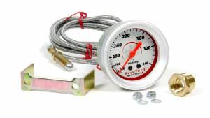 LONGACRE #52-46521 Oil Temp Gauge 100-340 Degrees AccuTech Sprtsmn
