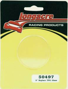 LONGACRE #52-50497 Replacement Glass for 2in. Tire Gauge