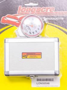 LONGACRE #52-50546 Durometer w/Silver Case