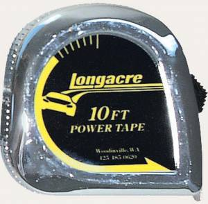 LONGACRE #52-50870 Tire Tape 10' X 1/4in