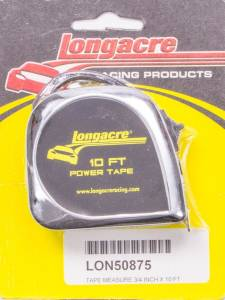 LONGACRE #52-50875 Tape Measure 10' x 3/4in