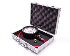 LONGACRE #52-52000 Tire Gauge 0-60PSI 4in GID Dual Bleed Pro
