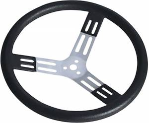 LONGACRE #52-56820 15in. Steering Wheel Black With Bumps Nat. Fi