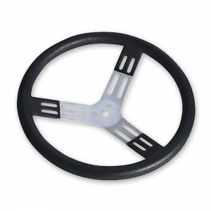 LONGACRE #52-56825 17in Steering Wheel Blk With Bumps