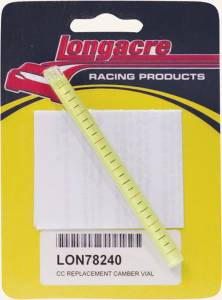LONGACRE #52-78240 Replacement Camber Vial
