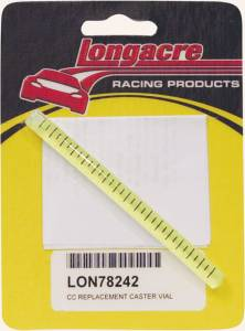 LONGACRE #52-78242 Replacement Caster Vial