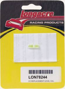 LONGACRE #52-78244 Replacement Level Vial