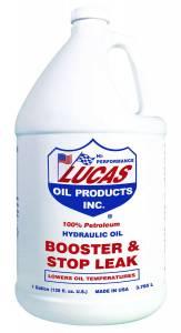 LUCAS OIL #10018 Hydraulic Oil Booster Stop Leak 4x1 Gallon
