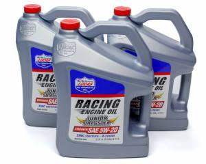 LUCAS OIL #10471 Jr. Dragster-Karting Oil 5w20 Case 3 x 5 Qt Jug