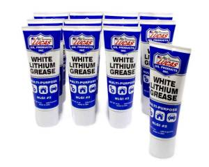 LUCAS OIL #10533 White Lithium Grease 12x8 Ounce