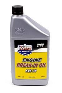 LUCAS OIL #LUC10630 Petroleum Break In Oil 30w 1 Qt