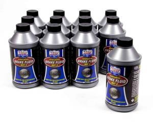 LUCAS OIL #10825 Brake Fluid Dot 3 Case 12x12oz