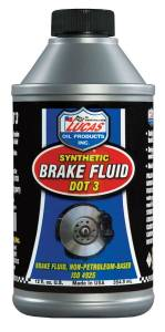 LUCAS OIL #LUC10825 Brake Fluid Dot 3 12oz