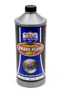 LUCAS OIL #LUC10826 Brake Fluid Dot 3 1 Qt