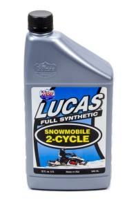 LUCAS OIL #LUC10835 2 Cycle Snowmobile Oil Synthetic 1 Qt.