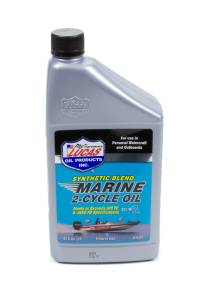 LUCAS OIL #LUC10860 Marine Oil 2 Cycle 1 Qt. Synthetic Blend