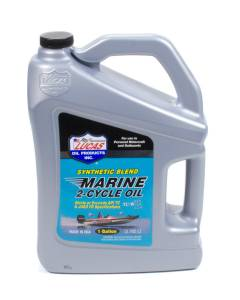 LUCAS OIL #LUC10861 Marine Oil 2 Cycle 1 Gal Synthetic Blend