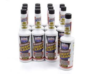 LUCAS OIL #10872 Diesel Deep Clean Fuel Additive Case 12x16oz.