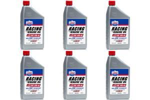 LUCAS OIL #10943 10w40 Semi Synthetic Racing Oil Case 6x1 Qt.