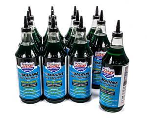 LUCAS OIL #10981 Marine Fuel Treatment Case 12x1 Quart
