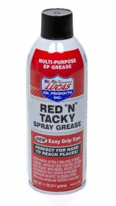 LUCAS OIL #LUC11025 Red-N-Tacky Spray Grease 11 Oz.