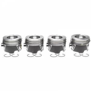 MICHIGAN 77 #2243708WR020 Piston Set w/Rings   4pk GM 6.6L Duramax LH