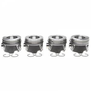 MICHIGAN 77 #2243709WR020 Piston Set w/Rings   4pk GM 6.6L Duramax RH