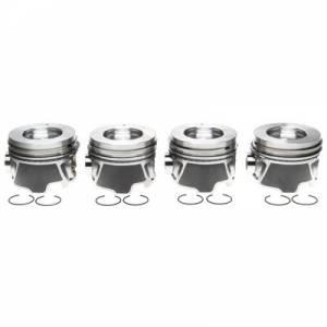 MICHIGAN 77 #2243709WR Piston Set w/Rings   4pk GM 6.6L Duramax RH
