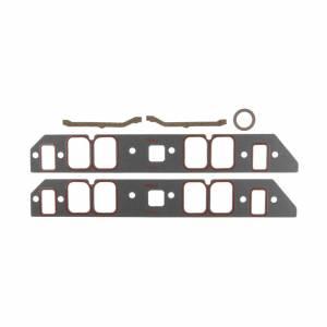 MICHIGAN 77 #MS20042 Intake Gasket Set - BBC Ret-Port 1.800 x 2.530