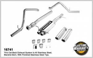 MAGNAFLOW PERF EXHAUST #16741 07-   GM 1500 P/U V8 Gas Cat Back Kit