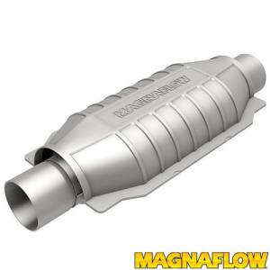 MAGNAFLOW PERF EXHAUST #94005 SS Cat Converter Oval Universal 2.25 In/Out