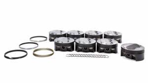 MAHLE PISTONS #930208255 SBC PowerPak Domed Piston Set 4.155 Bore