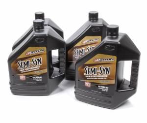 MAXIMA RACING OILS #39-349128B 10w40 Semi-Syn Oil Case 4 x 1 Gallons