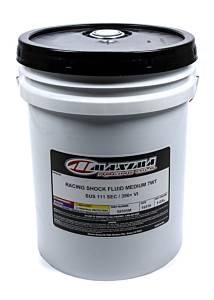 MAXIMA RACING OILS #58505M Racing Shock Fluid Medium 7wt. 5 Gallon