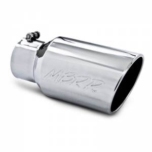 MBRP INC #T5073 Tip 6in O.D. Angled Roll ed End  4in inlet