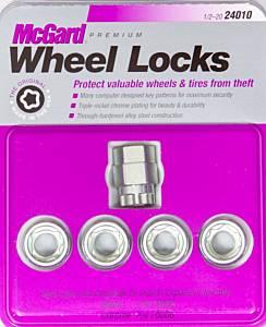 MCGARD #24010 WHEEL LOCK 1/2 CONICAL SEAT - UNDER THE HUB CAP