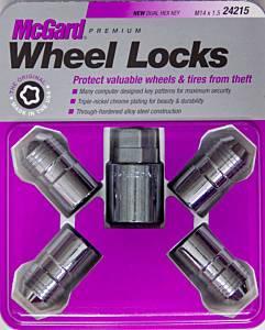MCGARD #24215 Wheel Lock Set 14mmx1.5 Cone Seat
