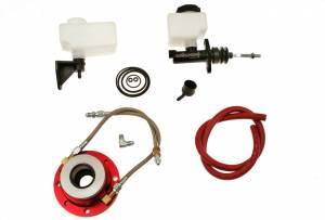 MCLEOD #13005 Hyd Throwout Bearing Kit Muncie w/Master Cylinder