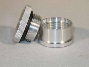 MEZIERE #PN6550 1.75 Alum.Cap & Alum. Bung Assembly