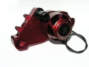MEZIERE #WP319R SBC LS1 Billet Electric W/P - Red