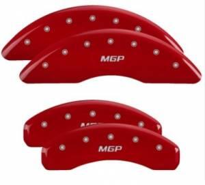 MGP CALIPER COVER #14241SMGPRD 16-   Camaro Caliper Covers Red