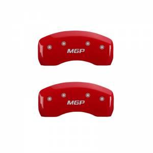 MGP CALIPER COVER #16077SMGPRD 09-15 Toyota Sequia Caliper Covers Red