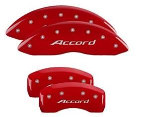 MGP CALIPER COVER #20219SACCRD 16-   Honda Accord Caliper Covers Red