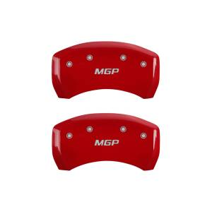 MGP CALIPER COVER #22073SMGPRD 07-15 BMW Caliper Covers Red