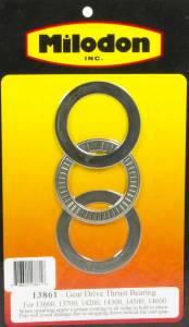 MILODON #13861 Thrust Bearing Kit - Gear Drive Parts