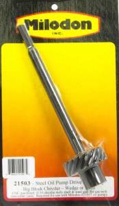 MILODON #21503 BBM Steel Oil Pump Drive Gear